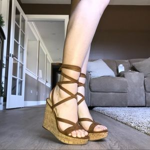 f98df27b6a0 DSW Shoes - Guess Treacy Wedges